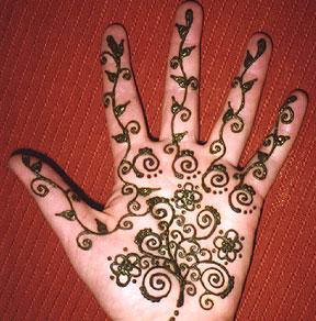 Como preprar pasta de henna para tatuajes temporales